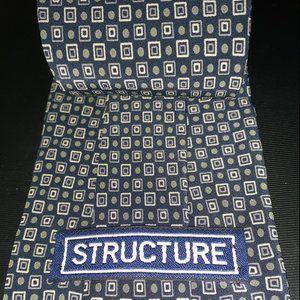 "3 3/4"" New Designer Tie By Structure"